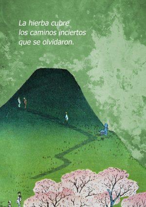 Personas subiendo la montaña
