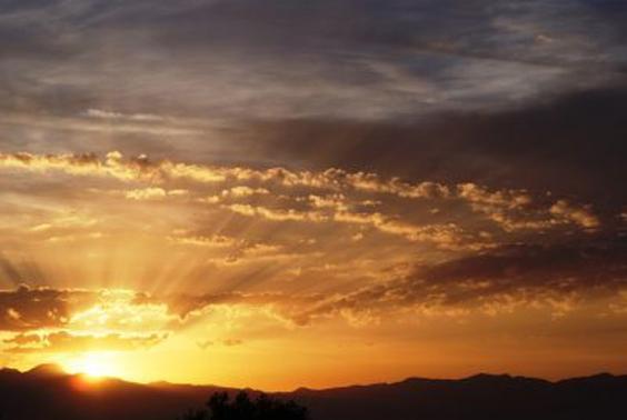 Imagen de un amanecer al alba