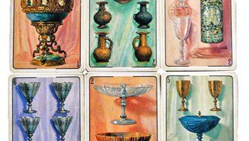 6 cartas de la baraja