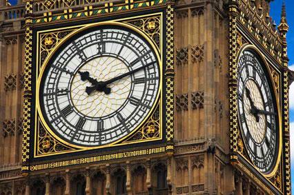 Big Ben en Londres, Reino Unido