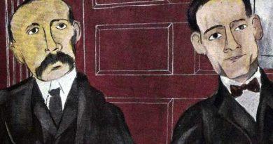 Ilustración del juicio de Sacco y Vanzetti