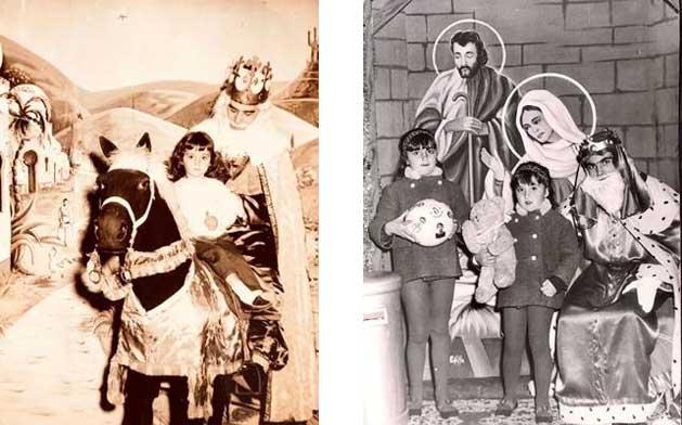 Fotos antiguas de niños en navidad