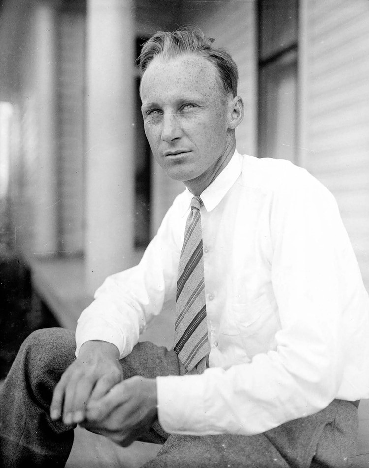 John Tomas Scopes fotografía en blanco y negro