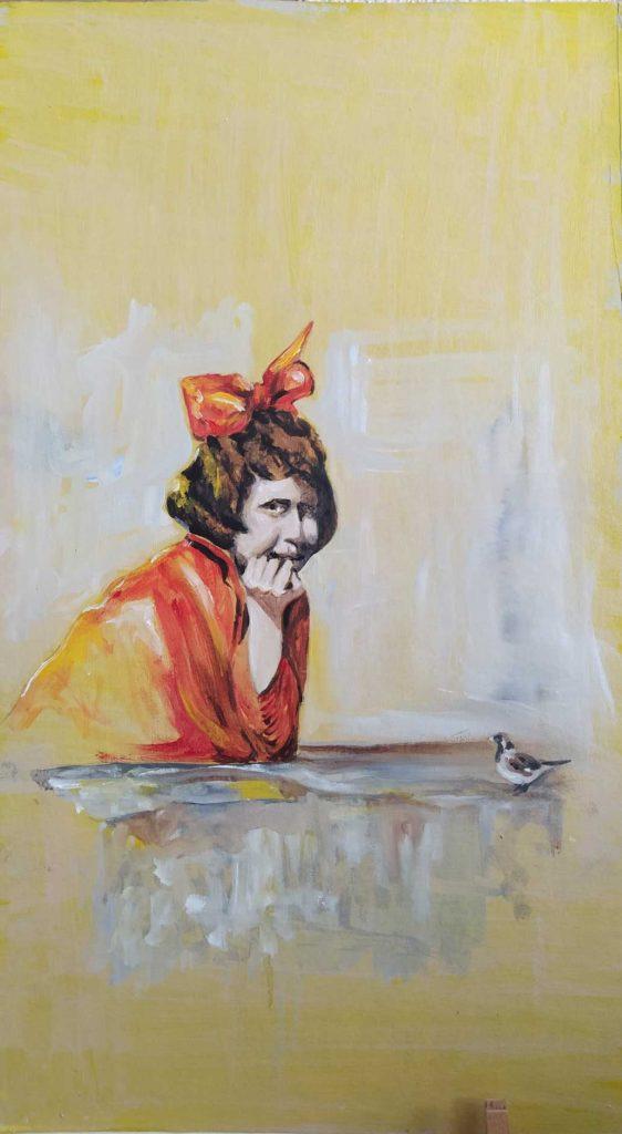 Laalegría, cuadro de Emilio Poussa