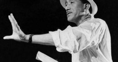Primer plano del maestro Ozu