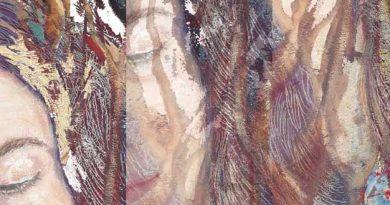 Detalle de una obra de Josephine Maldonado