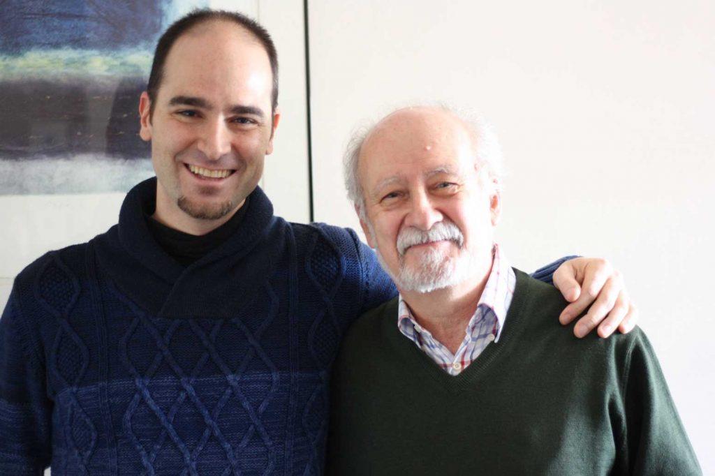 José Luis Turina con Jorge Castro