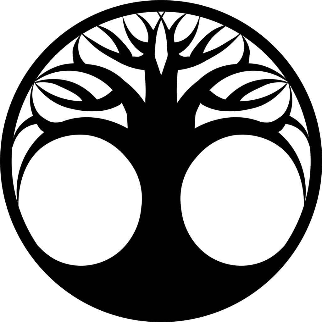 árbol de la vida silueta