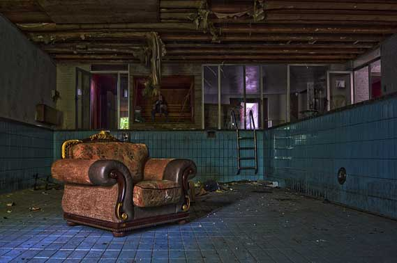 Habitación en decadencia