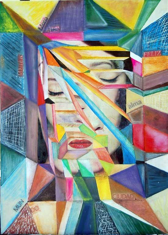 Pintura técnica mixta de Josephine Maldonado