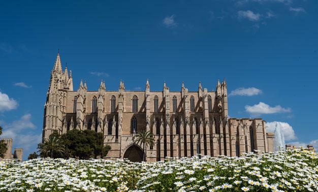Catedral de Mallorca en España