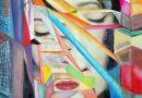 Detalle pintura técnica mixta de Josephine Maldonado