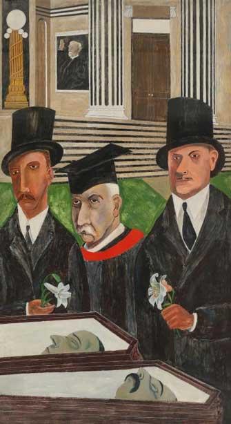 Ben Shahn. La pasión de Sacco y Vanzetti. 1931–1932