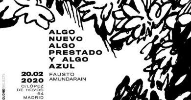 Invitación a la exposición de Fausto Amundarain