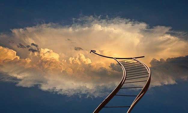 Escalera hacia el cielo