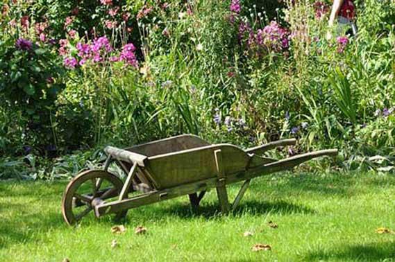 Carretilla de jardín