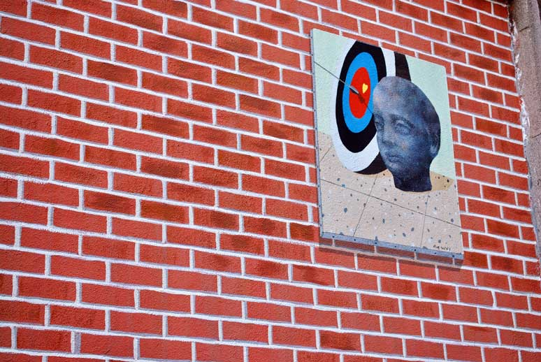 An Wei Lu Li, su obra en muros tabacalera de Madrid
