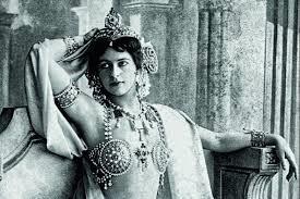 Mata Hari bailarina exótica