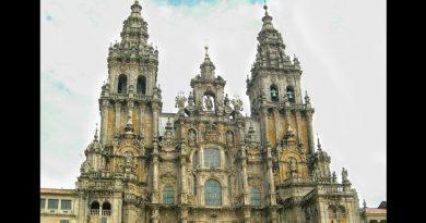 catedral de Santiago de Compostela en España
