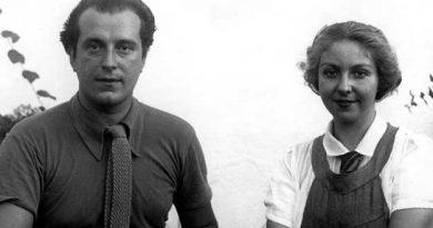 Rafael Alberti junto a su esposa María Teresa León