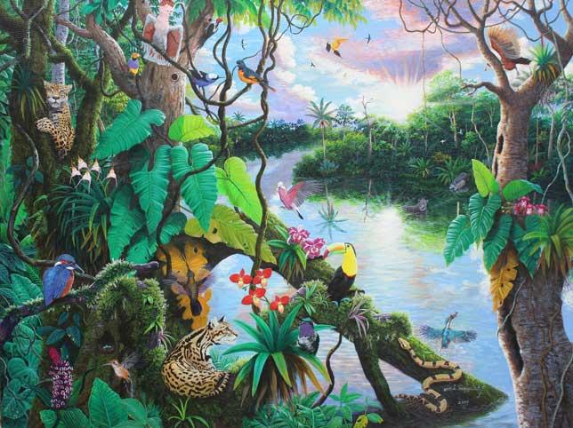 AMAZONIA EN LA SELVA de JOSE LUIS TOAQUIZA CHUGCHILAN – ECUADOR