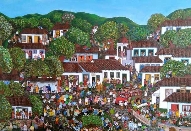 Día de mercado de María Lucía Ramirez – Colombia