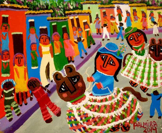 El baile de la burriquita de Palmira Correa - Venezuela