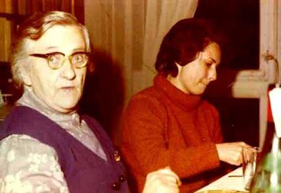 Émilienne Morin con su hija Colette