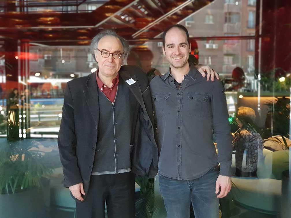 Benet Casablancas con Jorge Castro