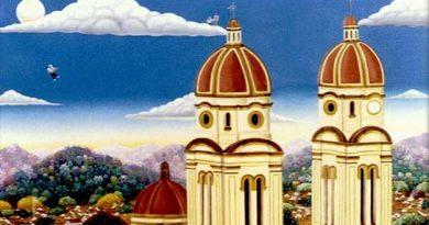 Detalle cuadro de Alejandro Pinzón