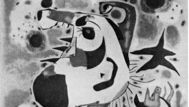 El payés catalán en rebeldía de Miró
