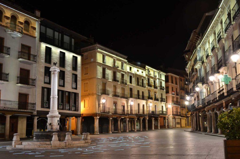 Teruel de noche