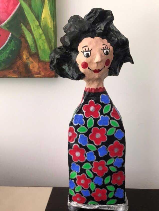 Aislada – Elvira C.Vargas - Colombia