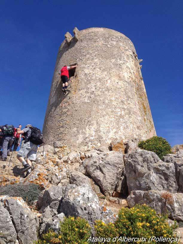 Atalaya d´Albercutx en Mallorca