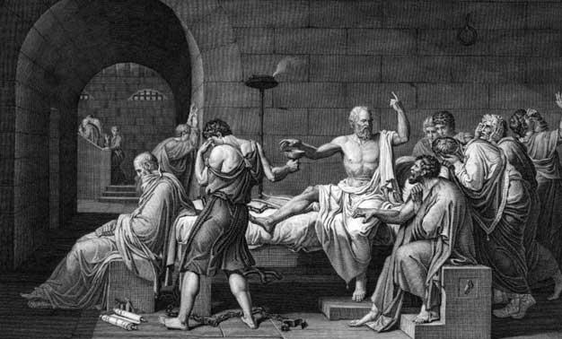 El juicio contra Sócrates