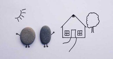 Dibujo de un niño de una casa