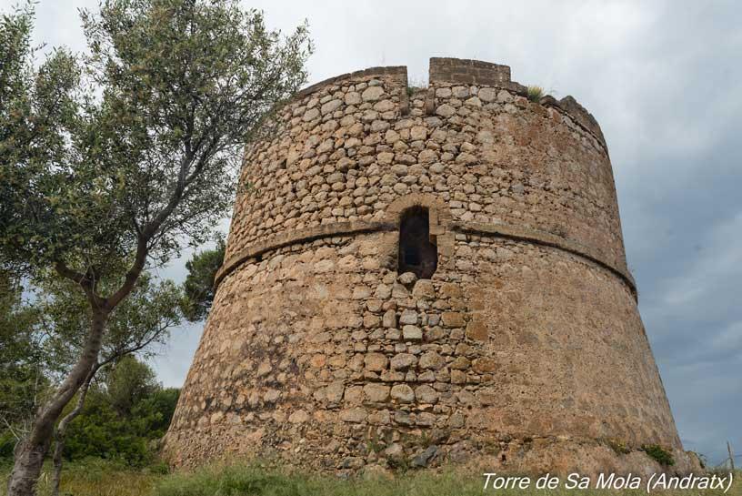 Torre de Sa Mola en Mallorca