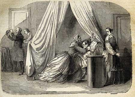 sospechas de que Marie había envenenado a su marido