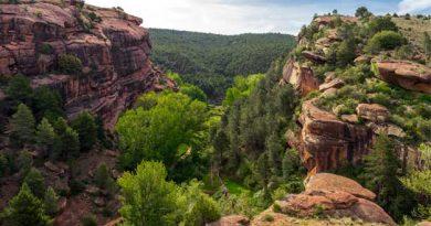Campamento del Rodeno en Teruel