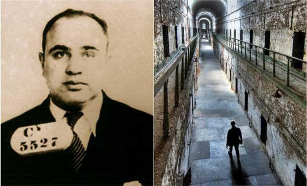 Al Capone ingresa en la cárcel