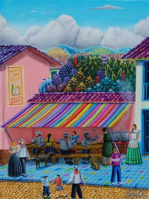 El almuerzo - ALEJANDRO PINZON – Colombia