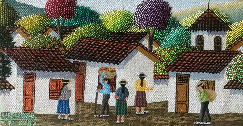 Vendedor de frutas - LUIS JOSE TANGUA - Colombia