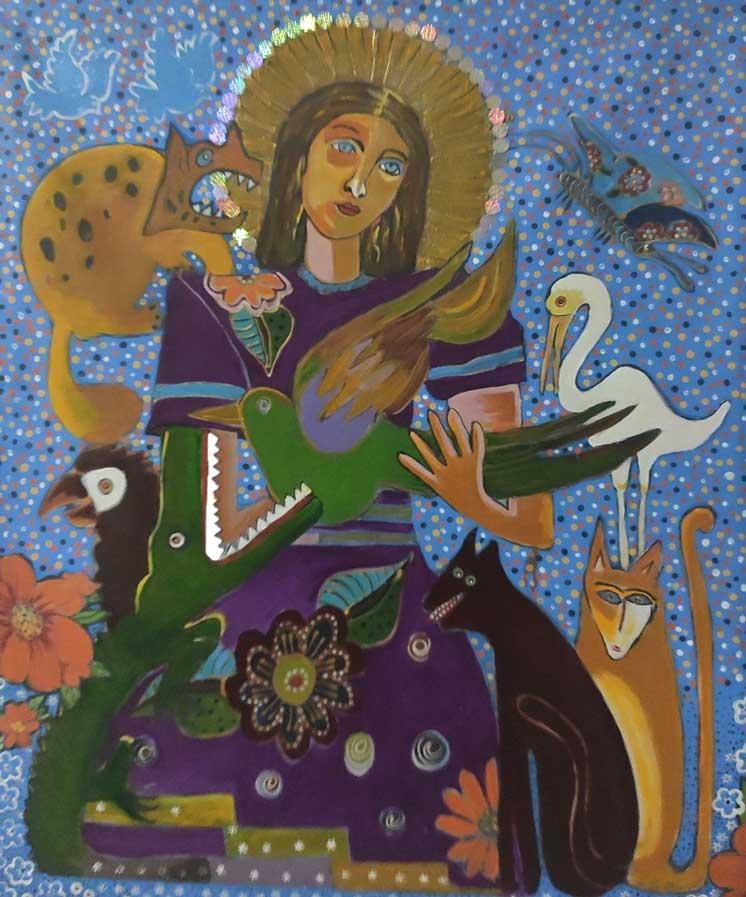Nuestra señora del pantanal - ELIETH GRIPP – Brasil