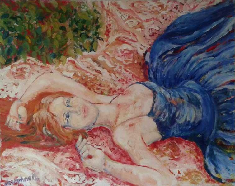 Huracán obra de Josephine Maldonado