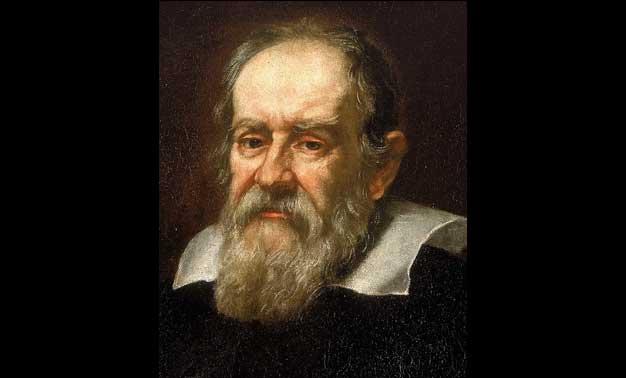 Detalle del retrato de Galileo Galilei pintado por Justus Sustermans en 1636