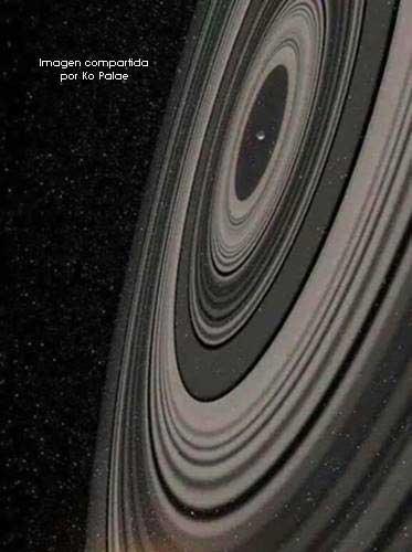 detalles de fractales en el espacio