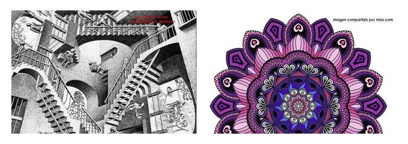 fractales en arquitectura y mangalas