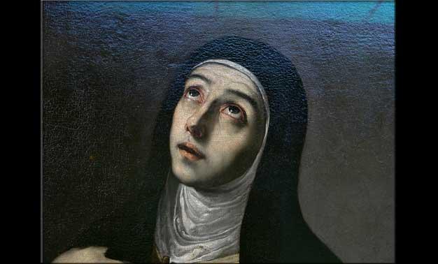 Retrato de Santa Teresa de Jesús de José Ribera 1630