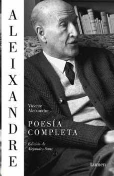 """Cubierta libro """"Poesías completas de Vicente Alenxandre"""""""