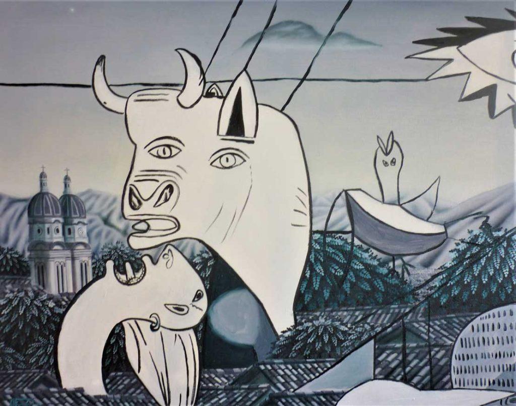 Picasso en Charalá - ALEJANDRO PINZÓN - Colombia